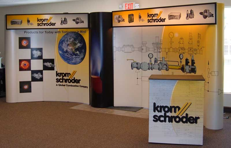 Trade Show Booth Kromschroder