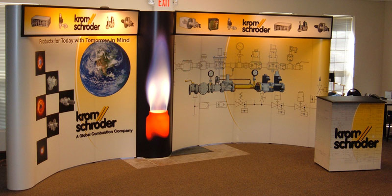 Trade Show Booth Kromshcroder