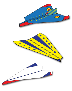 Custom Paper Airplane Designs